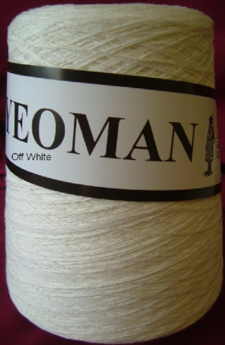 Yeoman Soft Cotton Yarn 2ply - Off White